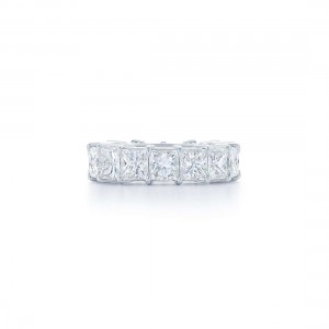 Kwiat Princess Cut Diamond Wedding Band