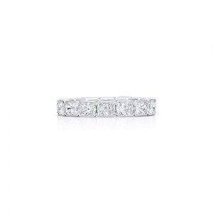 Kwiat Radiant Cut Diamond Wedding Band
