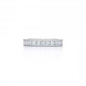 Kwiat Princess Cut Diamond Band