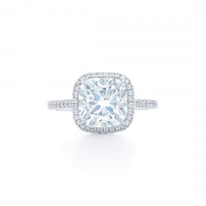 Kwiat Cushion Diamond Engagement Ring