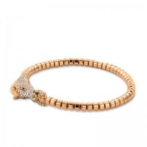 Hulchi Belluni Horsehead Beaded Bracelet