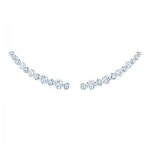Kwiat Climber Lyric Diamond Earrings