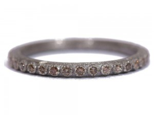 Armenta Champange Diamond Ring