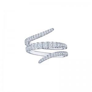 Kwiat Vine Wraparound Diamond Ring