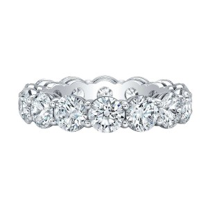 Norman Silverman Round Brilliant Diamond Band