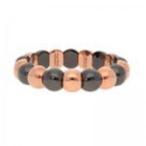 Small Aura Dama Beads with Black Ceramic