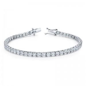 Norman Silverman Round Diamond Bracelet