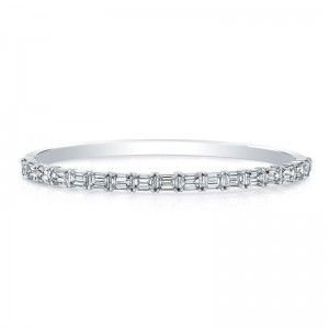 Norman Silverman Diamond East West Bracelet