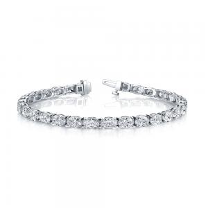 Norman Silverman East West Diamond Bracelet