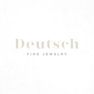 Deakin & Francis  White, Navy & Deep Pink Enamel Cufflinks