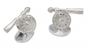 Deakin & Francis Fly Fishing Reel Cufflinks