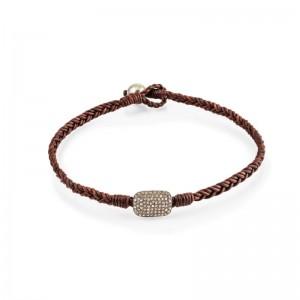 Vincent Peach Almaz Double Wrap Bracelet