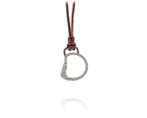 Cheval Bit Necklace With Diamond