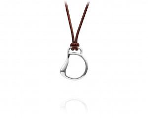 Vincent Peach Cheval Bit Necklace