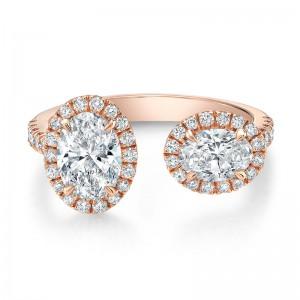 Norman Silverman Diamond Fashion Ring
