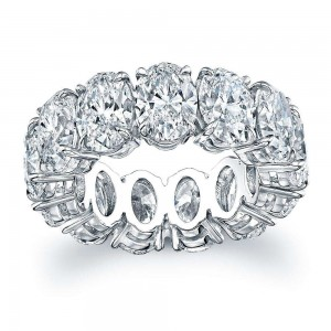 Norman Silverman Oval Diamond Band