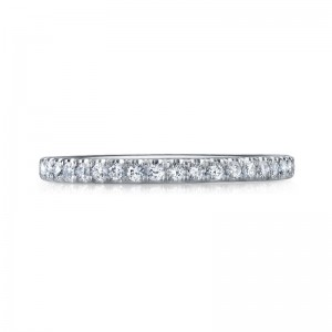 Deutsch Signature U Prong Micro Wire Eternity  Band