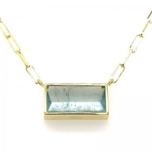 Lauren K Aquamarine Bea Necklace