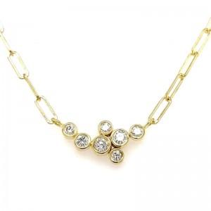 Lauren K Bubble Bea Diamond Necklace