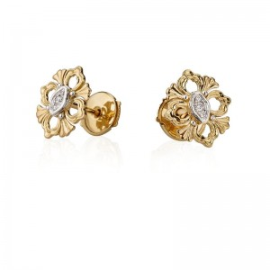 Buccellati Opera Button Earrings