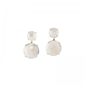 John Apel Moonstone Drop Earrings