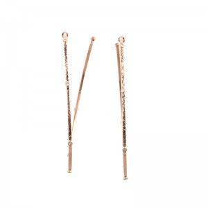 John Apel Diamond Hoop Earrings