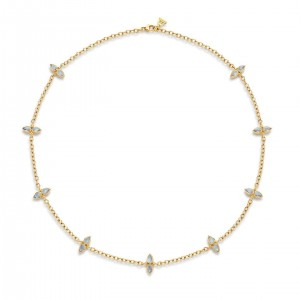 Temple St. Clair Dynasty Moon Necklace