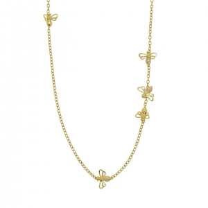 Temple St. Clair Busy Bee Necklace