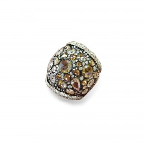 Norman Covan Gemstone Fashion Ring
