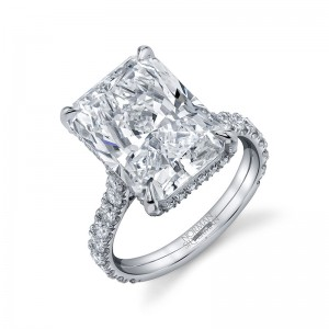 Norman Silverman Engagement Ring