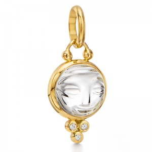 Temple St. Clair Moonface Pendant