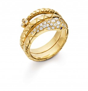 Temple St. Clair Double Serpent Ring