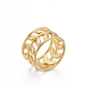 Temple St. Clair Gold Vine Ring