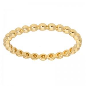 Deutsch Signature Gold Ball Ring