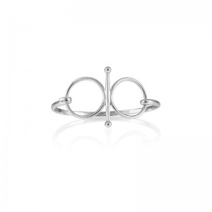 Vincent Peach Fulmer Snaffle Bit Bangle