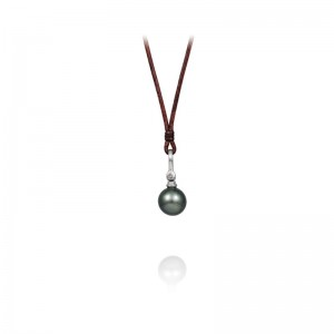Vincent Peach Biltmore Tahitian Royal Drop Necklace