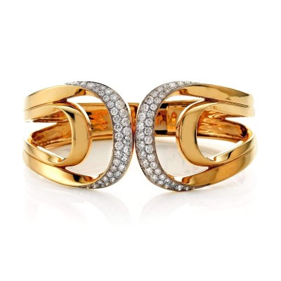 Rudolf Friedmann Gold and Diamond Bracelet