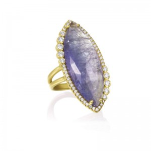 Lauren K Tanzanite & Diamond Ring