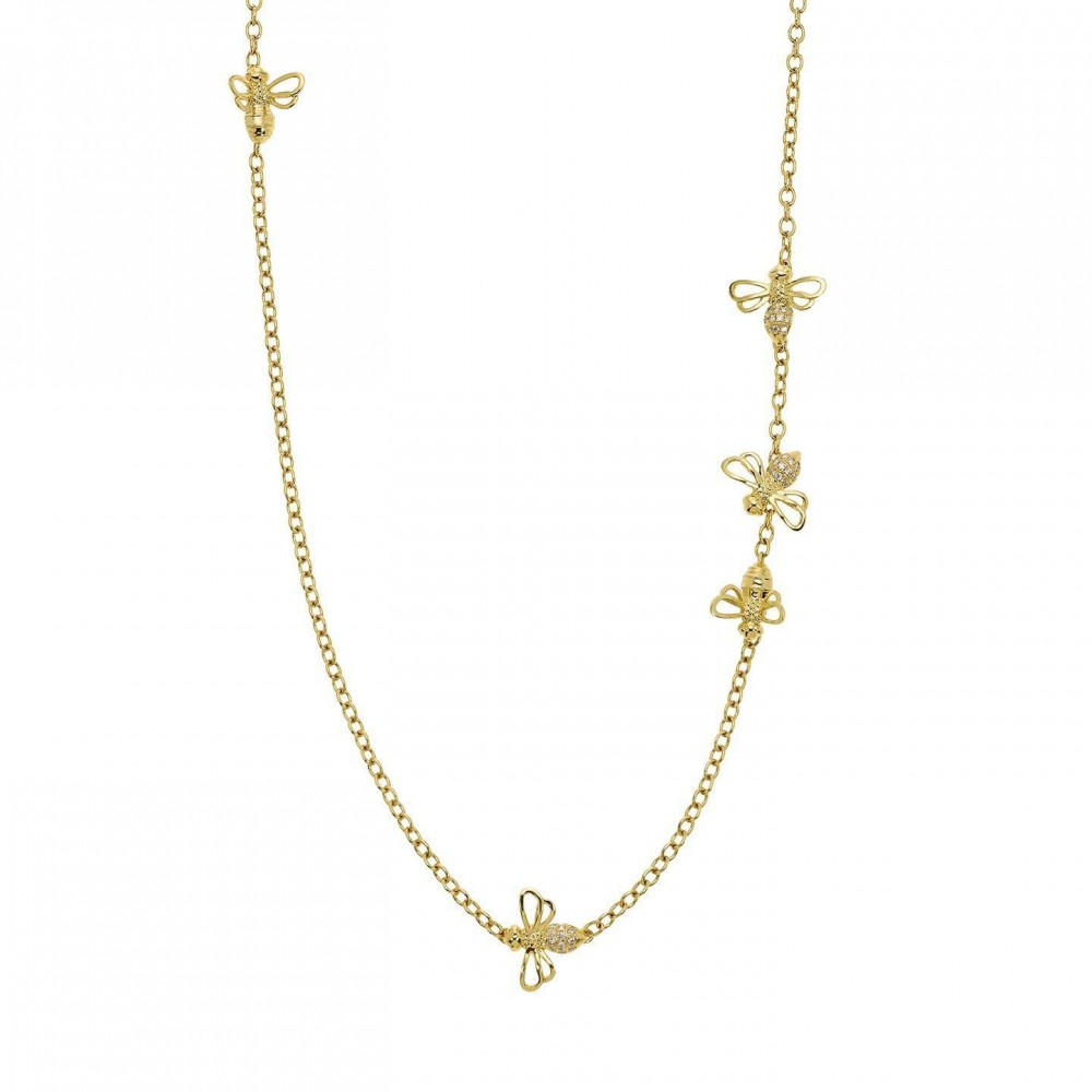 Temple St Clair Busy Bee Necklace