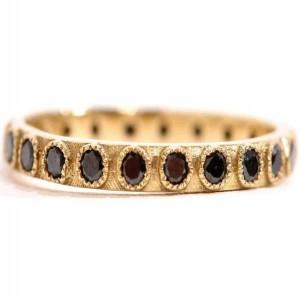 Armenta Black Sapphire Ring