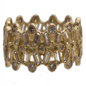Armenta Sueno Wide Gold Ring