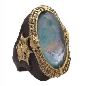 Armenta Peruvian Opal Ring