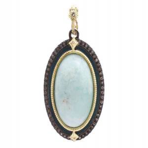 Armenta Old World Aquaprase Pendant