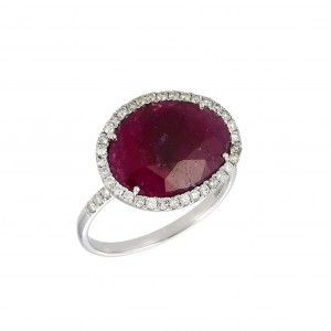 Meira T Ruby Slice Ring