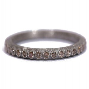 Armenta Champange Diamond Ring