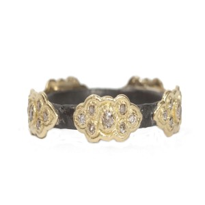 Armenta Sculpted Scroll Stack Ring