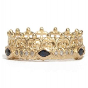 Armenta Sueno Half Crown Ring