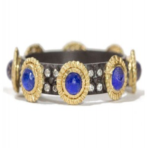 Armenta Old World Lapis Stack Band
