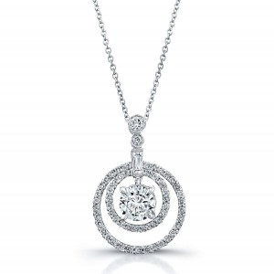 Norman Silverman Diamond Pendant