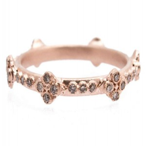 Armenta Sueno Rose Gold Ring